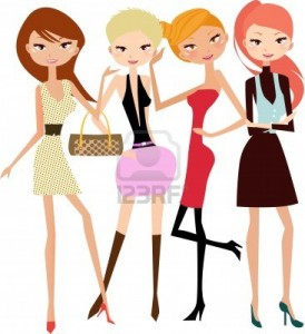 6530396-ilustracion-de-cinco-mujeres-modelo-de-moda-bonita