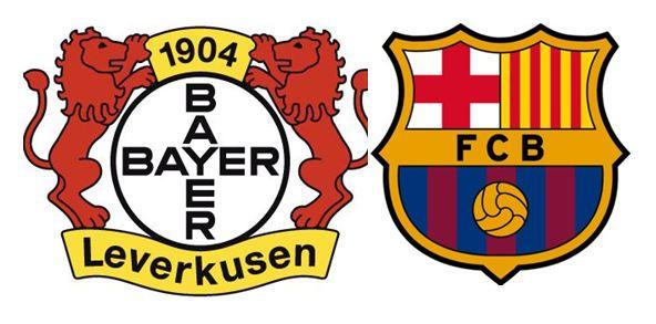 A que hora juega el FC Barcelona contra el Bayer Leverkusen 1