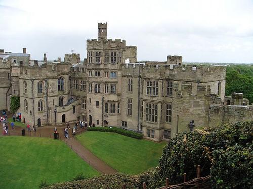 Castillo-de-Warwick