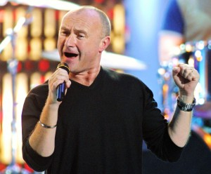 BRITISH SINGER PHIL COLLINS PERFORMS AT NRJ MUSIC AWARDS CEREMONY IN CANNES