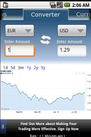Currency converter: convertidor de divisas para Android 1