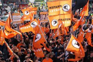 El Partido Pirata Alemán avanza imparable