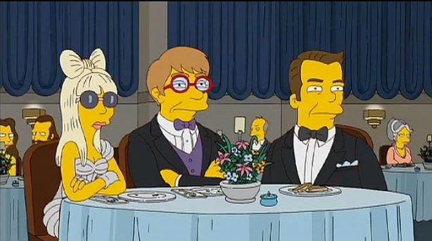 Lady Gaga en los Simpsons 2