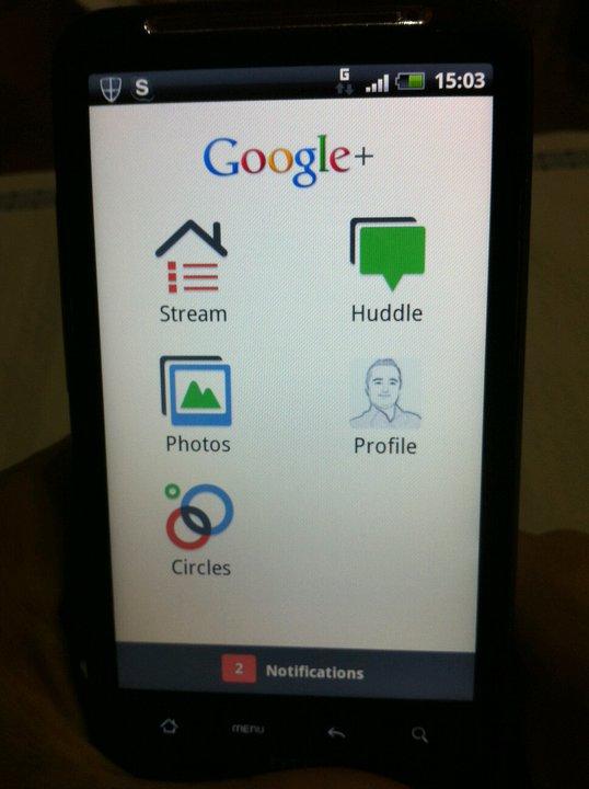 Google+ para Android 1