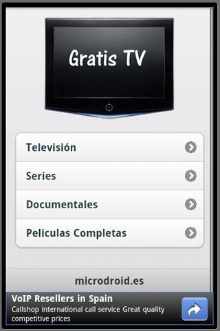 5 aplicaciones Android para ver la Televisión en tu móvil 4