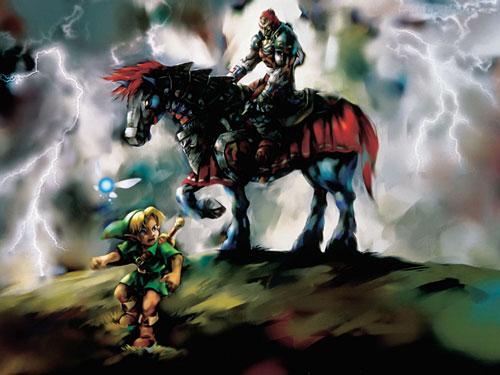 The Legend of Zelda : Ocarina of time 3D 1
