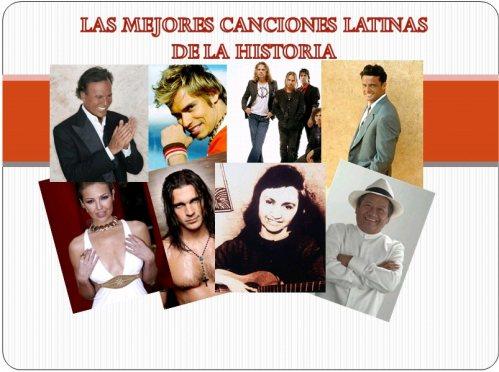 Top 10 mejores canciones latinas de la historia 1