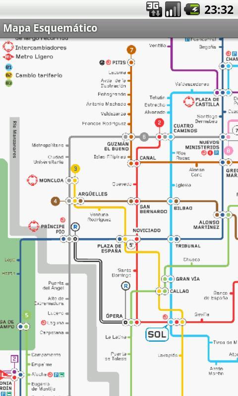 Metro de Madrid para Android 1