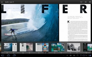 Zinio revista Reader para Android 2