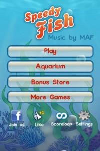 Speedy Fish, un grandioso juego 1