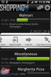 Lista de compras en tu Android 1