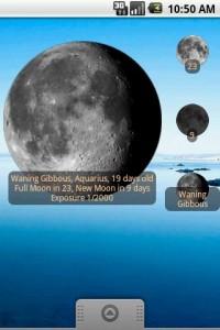 Aplicación para ver las fases de la Luna 1