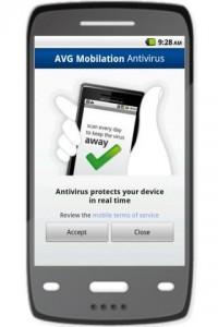 Anti-Virus AVG para Android 2