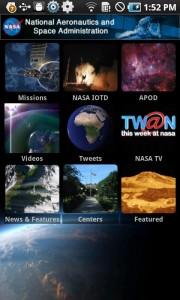 La aplicación oficial de la NASA para Android 2