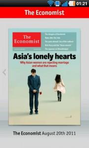 La mejor manera de leer The Economist en tu dispositivo Android 1
