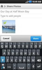 LiveShare Grupo de intercambio de fotos de forma sencilla 2