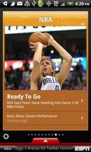 ESPN ScoreCenter para Android 2