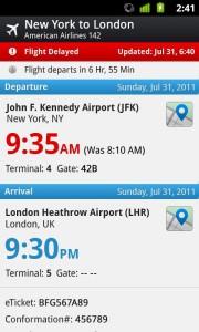 Irte de viaje ahora más facil con la nueva aplicación para Android 2