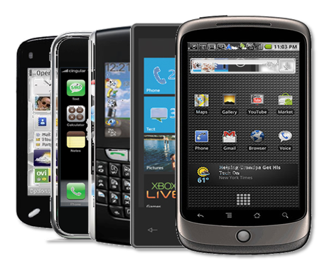 Top 10 smartphones del 2012 1