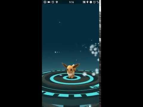Evolución de Eevee a Vaporeon en Pokémon GO